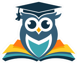 Academic Owl Sticker