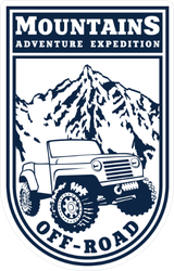 Adventure Expedition Jeep Sticker