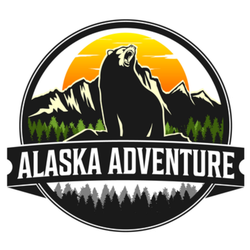Alaska Adventure Logo Sticker