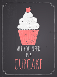 All You Need Is A Cupcake Sticker