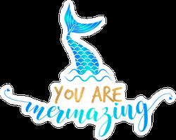 Amazing Mermaid Sticker