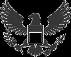 American Eagle and Shield Sticker