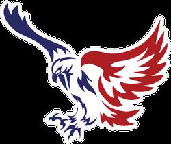 American Patriotic Eagle Special Force Logo Sticker