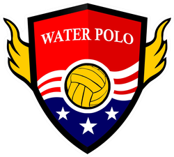 American Water Polo Logo Sticker
