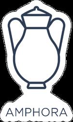 Amphora Icon Sticker