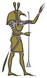 Ancient Egypt - God Of Storms, Desert, Chaos And War Sticker