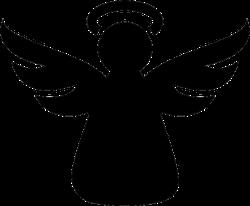 Angel Icon Sticker