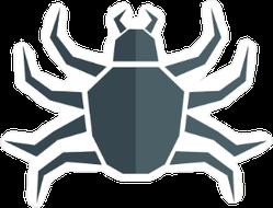 Angular Spider Sticker