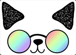 Anime Cat With Sunglasses Sticker
