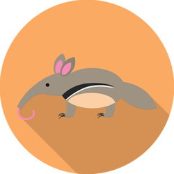 Anteater Icon Sticker