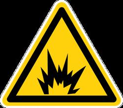 Arc Flash Hazard Symbol Sign Sticker
