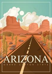 Arizona Grand Canyon State Sticker
