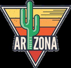 Arizona State Cactus Sticker