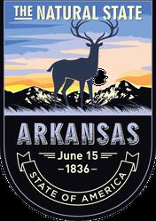 Arkansas Banner Sticker