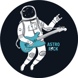 Astro Rock Sticker