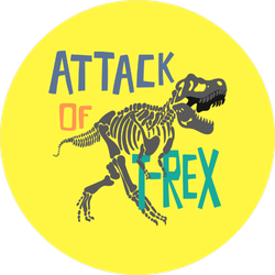 Attack of the T-Rex Fossil ticker