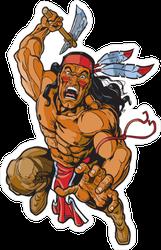 Attacking Apache Indian Sticker