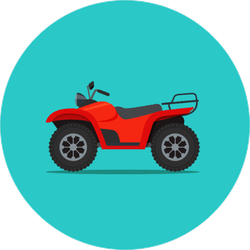ATV Sticker