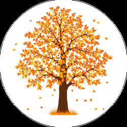 Autumn Fall Tree Sticker