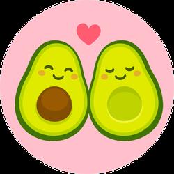 Avocuddle Avocado Sticker