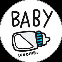 Baby Loading Sticker
