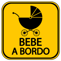 Baby on Board in Spanish Sticker
