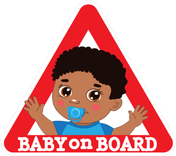 Baby on Board Road Safety Sticker