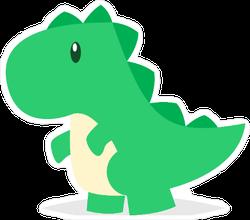 Baby Toy Dinosaur Sticker