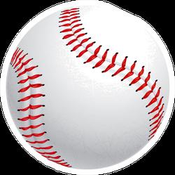 Baseball Exclusive Close Up Sticker