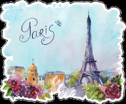 Beautiful Paris Sticker