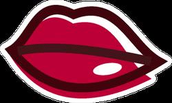 Beauty Lips Logo Sticker
