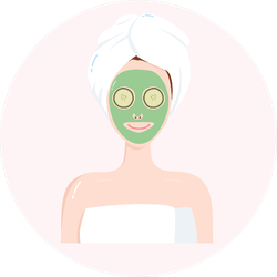 Beauty Mask Relaxation Sticker
