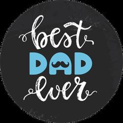 Best Dad Ever Sticker