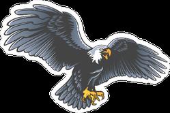 Bird of Prey Eagle Sticker