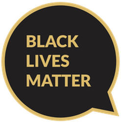 Black Lives Chat Bubble Sticker