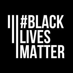 Black Lives Matter Banner Movement Sticker