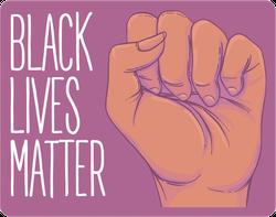 Black Lives Matter Pink Sticker