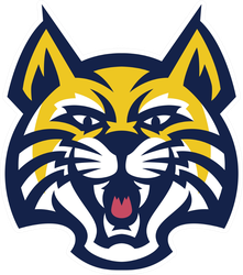 Bobcat Head Mascot Sticker