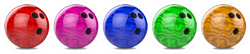 Bowling Ball Set Sticker