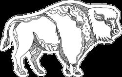 Buffalo Doodle Sicker
