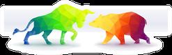 Bull Vs. Bear Market Sticker