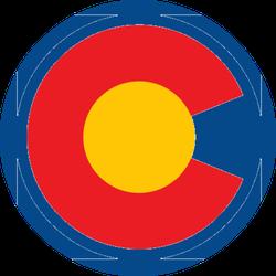 C Colorado Logo Sticker
