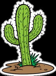 Cactus Tree Sticker