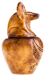 Canopic Jar Ancient Egyptians Mummification Sticker