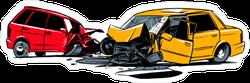 Car Wreck Sticker