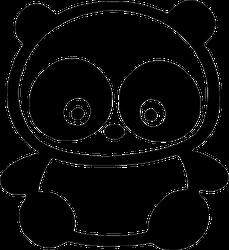 Cartoon Panda Sticker