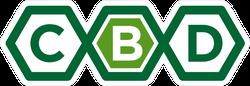 CBD Logo Sticker