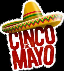 Cinco De Mayo Holiday Sticker