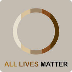 Circle All Lives Matter Sticker