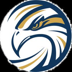 Circle Eagle Logo Sticker